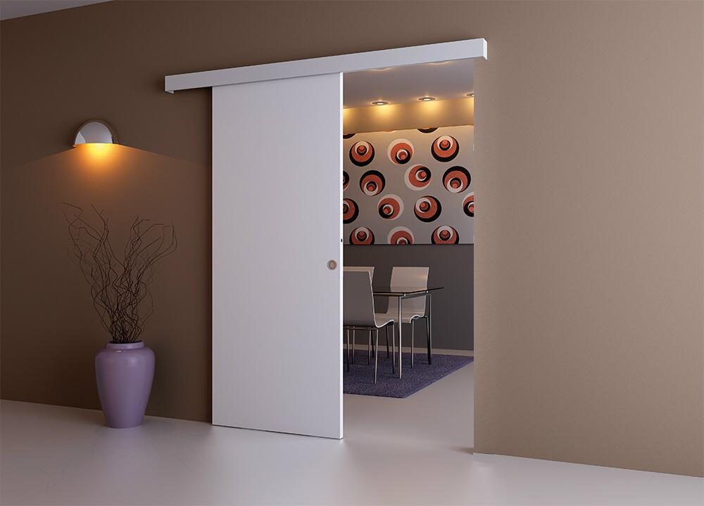 porta scorrevole esterno muro colori a scelta con o senza inserti ebay