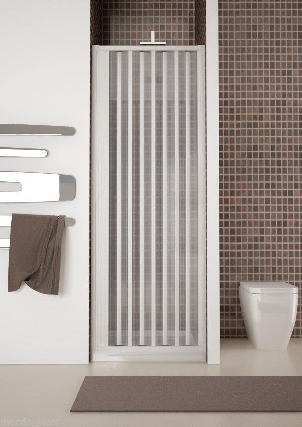 Box doccia a soffietto 1 lato apertura laterale varie - Box doccia salvaspazio ...