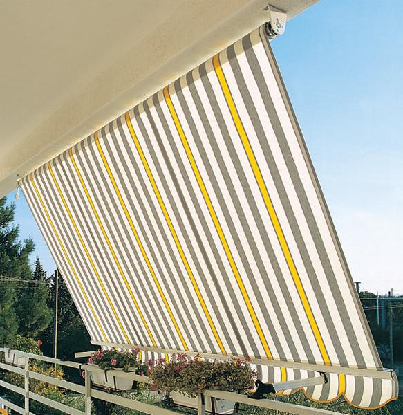 Tenda da sole a caduta tempotest per terrazzi e balconi for Tende da sole usate ebay