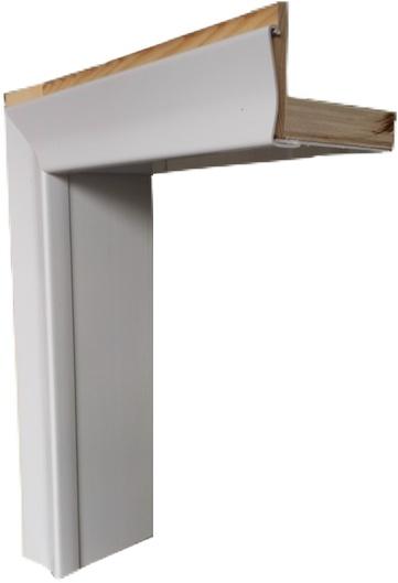 Kit telaio imbotte in pvc completo di coprifili per porta a soffietto ebay - Controtelaio finestra prezzo ...
