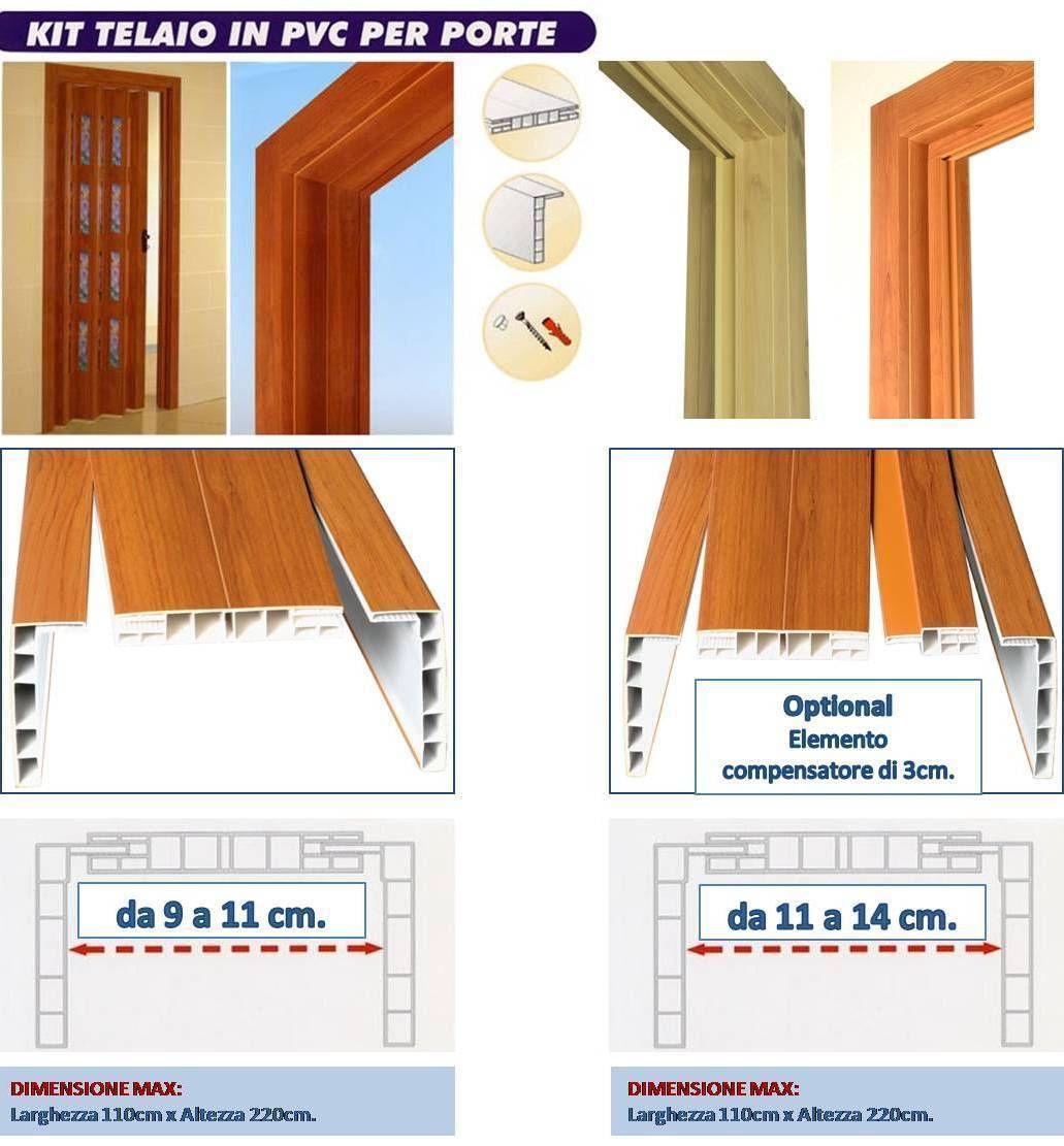 Arco Per Porta dettagli su kit telaio arco di passaggio completo di coprifili per porta a  soffietto