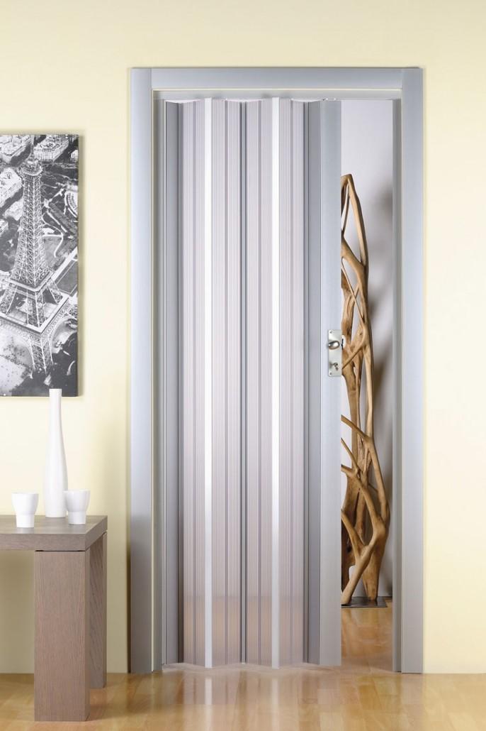 Porta a soffietto in pvc traslucida su misura in 21 - Prezzo finestre pvc al mq ...