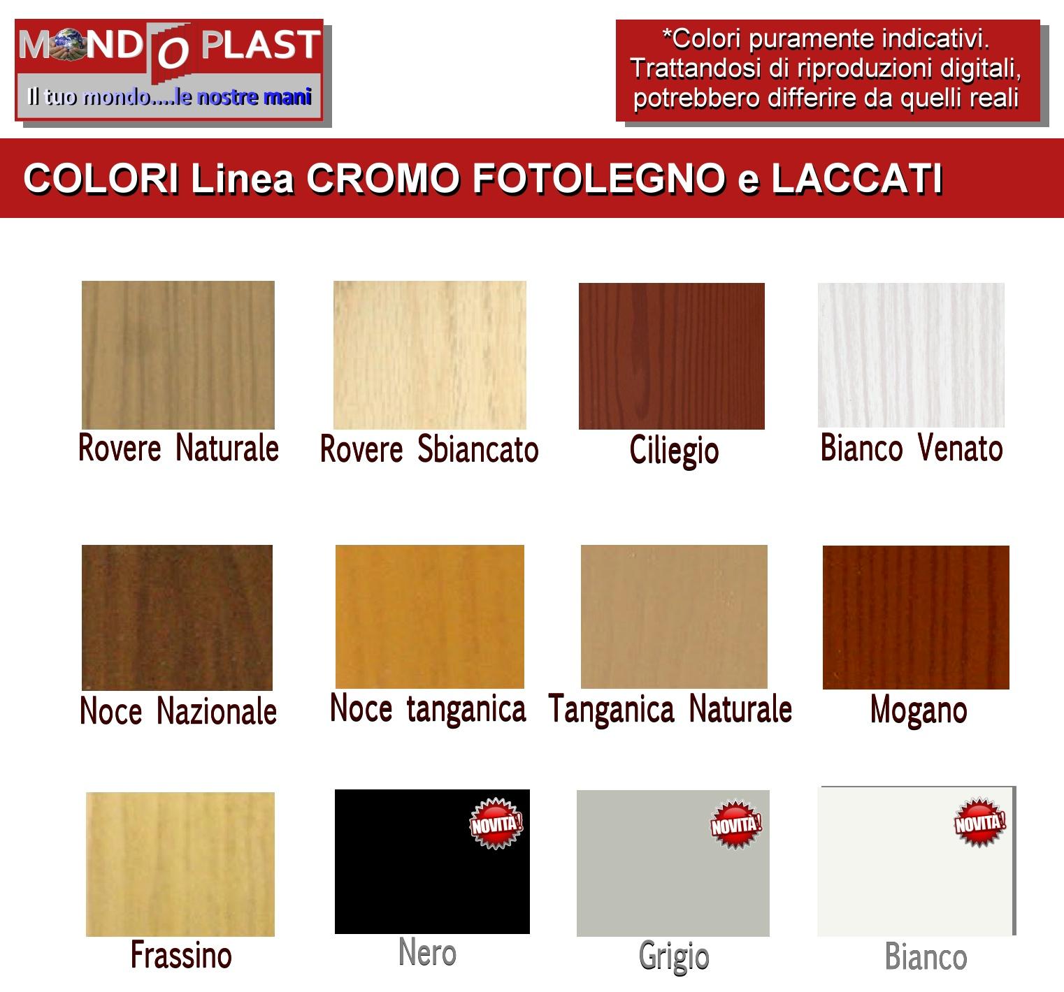 Porta a soffietto in pvc su misura linea finto legno e for Prezzo finestre pvc al mq
